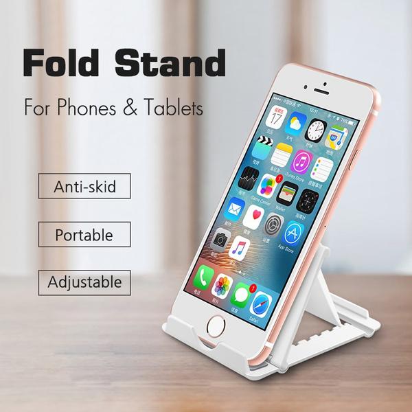 Zfusshop Phone Stand Tablet Holder Aluminum Pocket Desktop Holder Phone Dock Universal Cradle Home,Gym,Desktop,Office,Outdoor,Portable