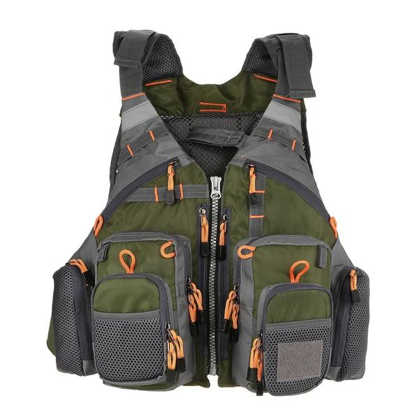 Vest, Outdoor, Fashion, fishinglifesavingjacket
