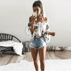 blouse, Summer, Fashion, Floral print