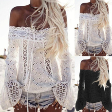 Summer, Fashion, Lace, Hollow-out