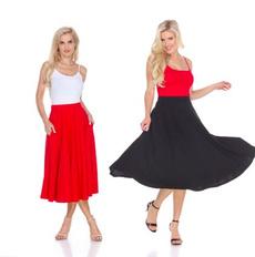 black, categorylevel1womensclothing, Skirts, Women's Fashion