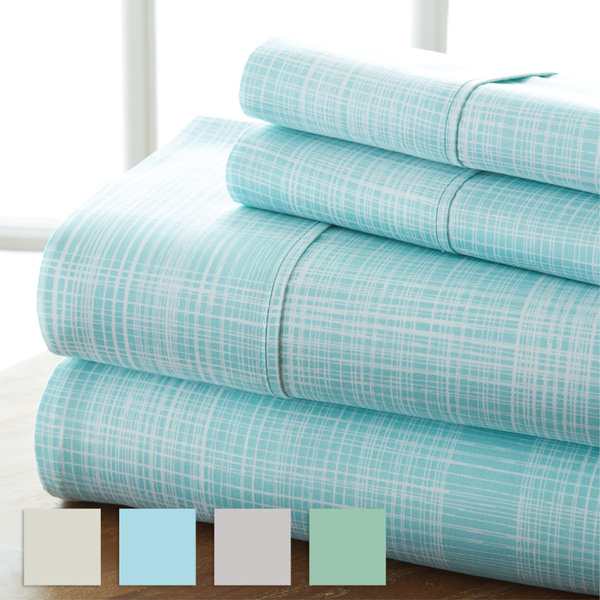 sheetset, printedsheet, Home & Living, Bedding