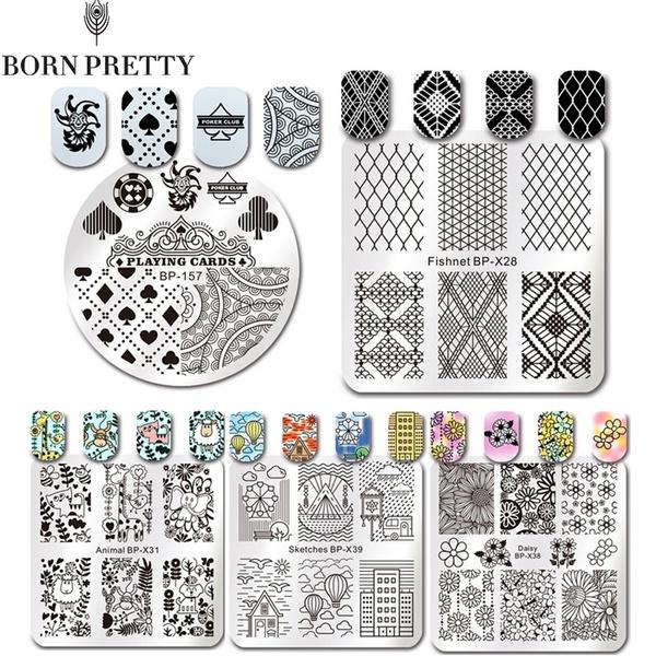 nailstamper, art, Lace, laceflower