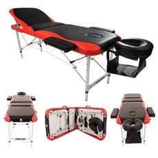 3section, case, Salon, massagetable