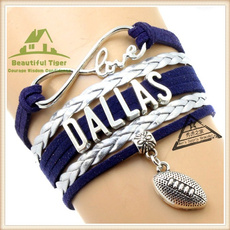 fansbraidedbracelet, Nfl, superbowl, Jewelry