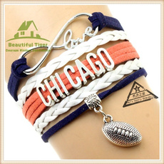 fansbraidedbracelet, Nfl, superbowl, Chicago