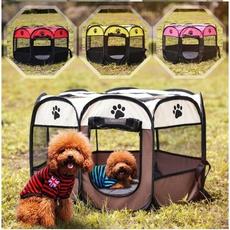 playpen, foldingcage, cathouse, dogkennel