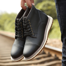 blackankleboot, ankle boots, Fashion, Leather Boots
