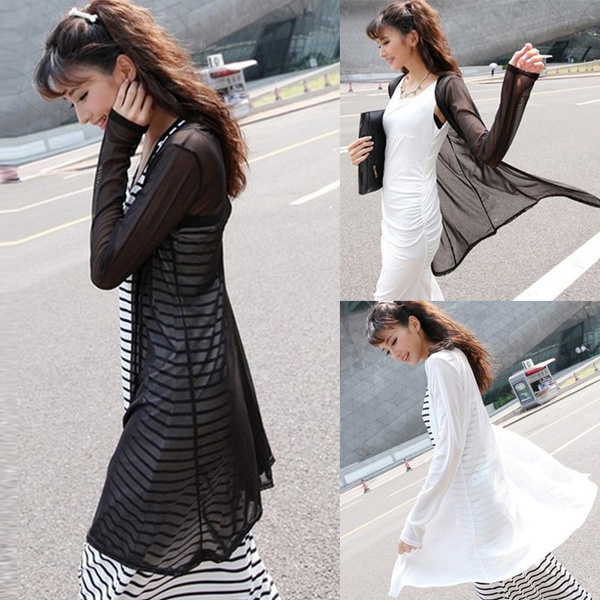 Plus Size, longtop, Sleeve, coatsampjacket
