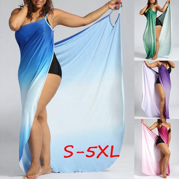 Plus Size, Dress, Cover, beach dress
