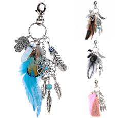 bohemia, Women, Tassels, Key Chain
