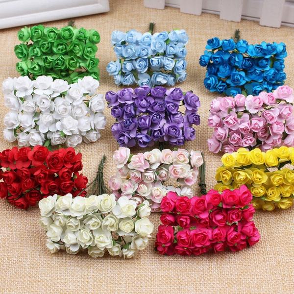 Box, Mini, Flowers, Wedding Supplies