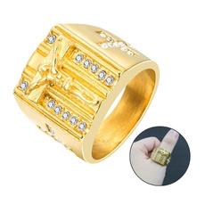 Steel, Fashion, Jewelry, Diamond Ring