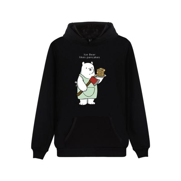 Fashion, cutecartoonhoodie, pullover hoodie, Long Sleeve
