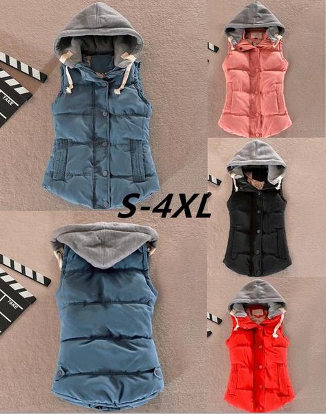 Women Vest, Vest, Plus Size, Outerwear