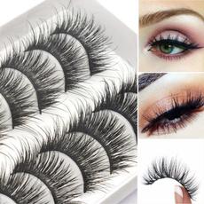 long false eyelashes