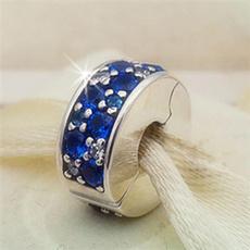 Blues, Sterling, charmbead, Jewelry