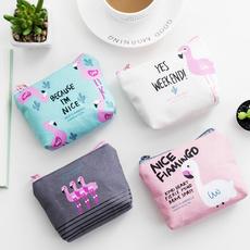 Mini, flamingo, Gifts, Wallet
