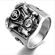 Steel, ringsformen, 316l, Fashion