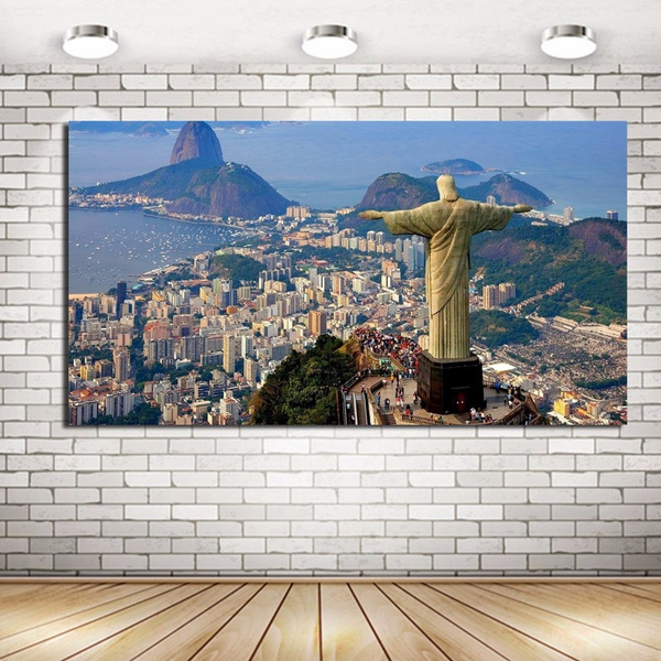 scenery, olympic, living room, canvaspainting