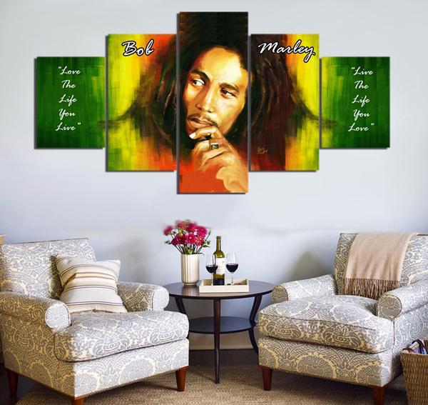 reggae, Decor, Fashion, modern abstract oil painting