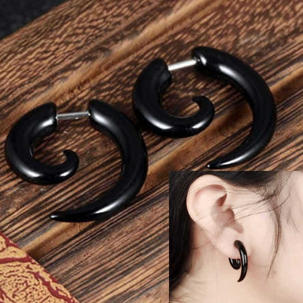 Black Earrings, earrings jewelry, Fashion, Jewelry