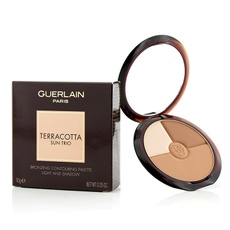guerlainmakeup, terracottasuntriobronzingcontouringpalette, make up brushes, Makeup