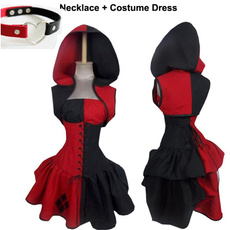 Cosplay, Jewelry, harleyquinn, Cosplay Costume