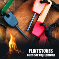 Outdoor, survivehuntingfiresteel, flintstonestone, fishingsportmengadget