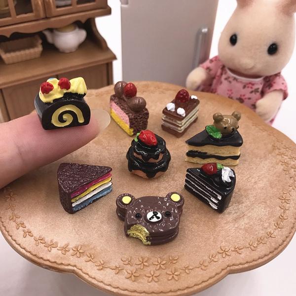 doll, Food, miniaturefood, chocolatemold