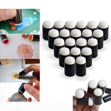 chalk, Stamping, art, Sponges