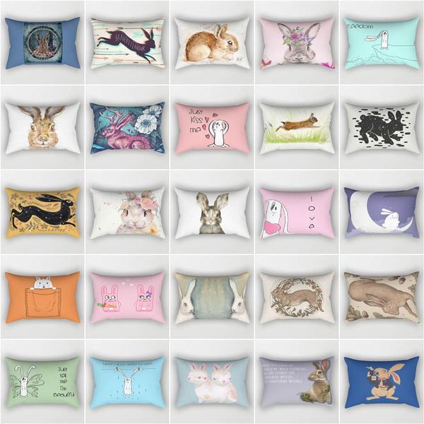 Home Decor, lovelybunny, carpillow, Throw Pillow case