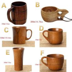 Wood, handmadenaturalwoodcup, Milk, Cup