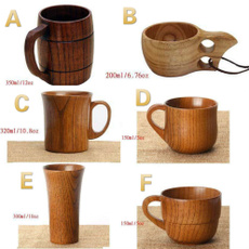 Wood, handmadenaturalwoodcup, Milk, Cup