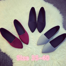 Flats, Spring, pointed, Work