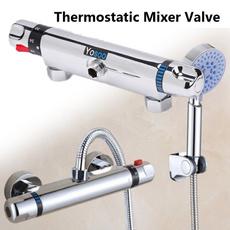 Brass, Copper, Bathroom, thermostaticmixerbar