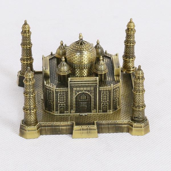 decoration, metalbuildingmodel, tajmahalmetalmodel, creative gifts