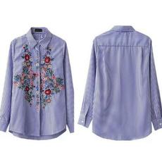 blouse, Blues, Fashion, Sleeve