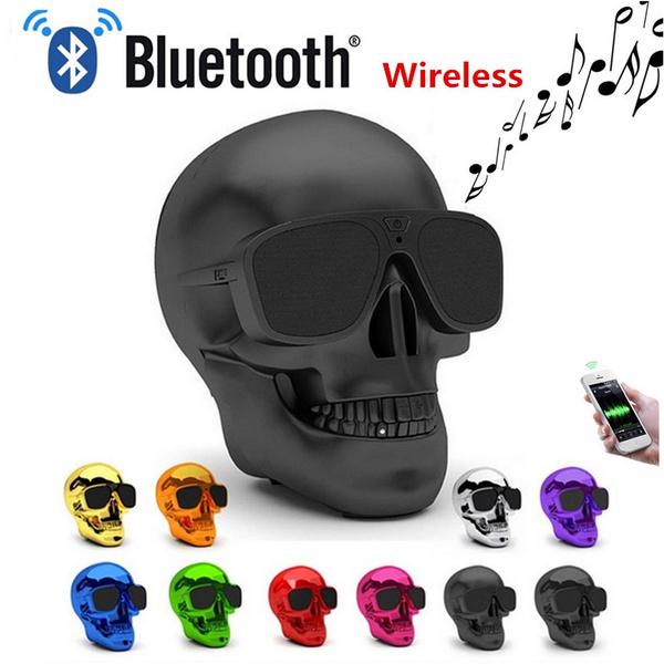 Wireless Speakers, Home Decor, skull, Mobile
