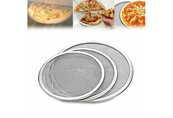 Black,28x28x1cm NICEXMAS 1PCS Round Pizza Pan Nonstick 11 Inch Pizza Pan with Holes,Pizza Baking Pan for Oven Baking Supplies