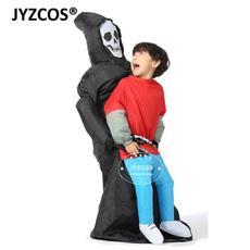 scary, blowupjumpsuit, inflatablescarycostum, skull