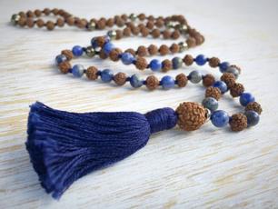 Tassels, prayernecklace, Yoga, 108malabead