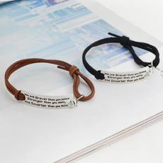 Jewelry, Gifts, adjustablebracelet, leather