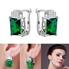 DIAMOND, punk earring, Stud Earring, ear studs