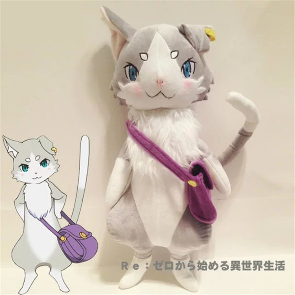 Re:Zero 10/'/' Puck Sitting Prize Plush Anime Manga NEW