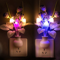 bedroomlight, Decor, Flowers, led