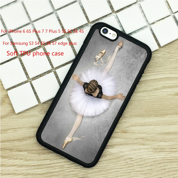 Phone Cases For IPhone 6 6S 7 Plus 5 5S 5C SE 4 4S Ipod Touch 4 5 6 Cover Shell Ballet Dance Girl Print Pattern | Wish