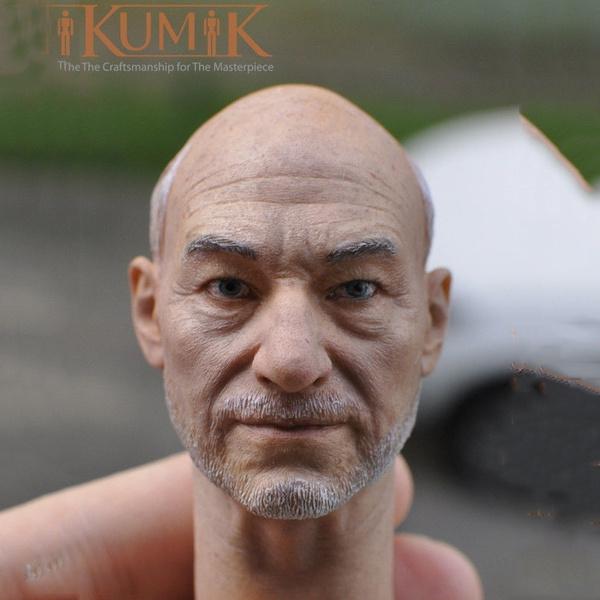 maleaccessorie, Head, 16scalemale, headsculpture