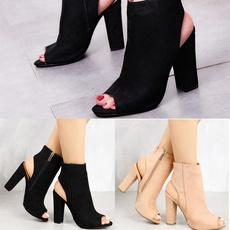 stilettoheel, ankle boots, Sandals, Womens Shoes