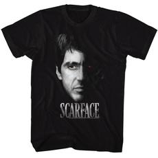 Short Sleeve T-Shirt, Cotton T Shirt, skulltshirt, Movie